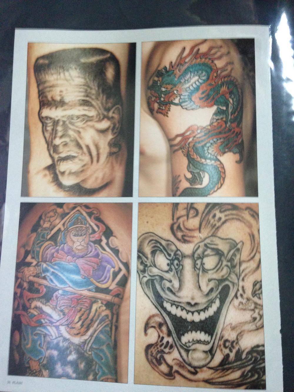 Tattoo Flash Magazine