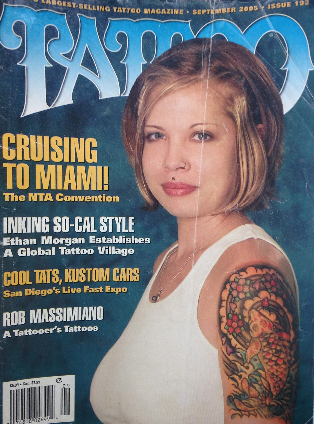 Tattoo Magazine September 2005