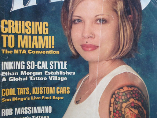 TATTOO MAGAZINE SEPTEMBER 2005 FEATURE