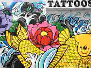 Tattoos by Lou Kendall