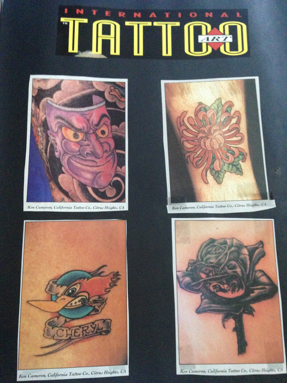 International Tattoo Art Magazine June 1994
