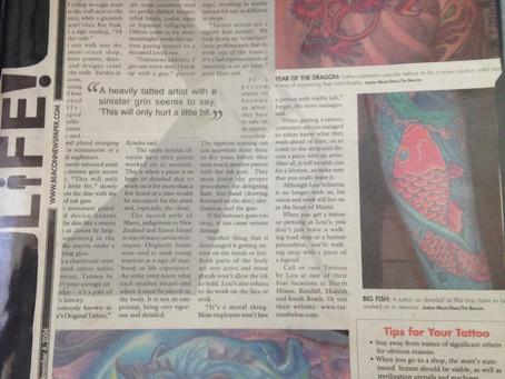THE BEACON NEWSPAPER