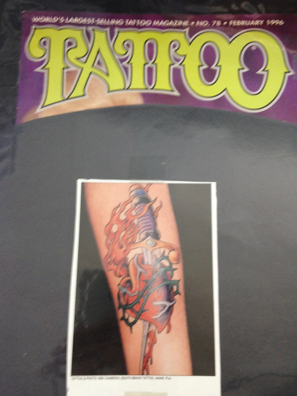 Tattoo Magazine February 1996