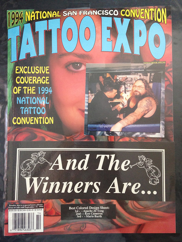 TATTOO EXPO MAGAZINE 1994 | Tattoo And Piercing Shop Miami