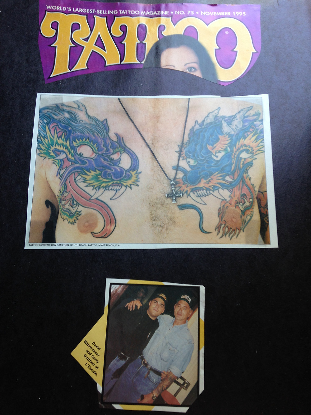 Tattoo Magazine November 1995
