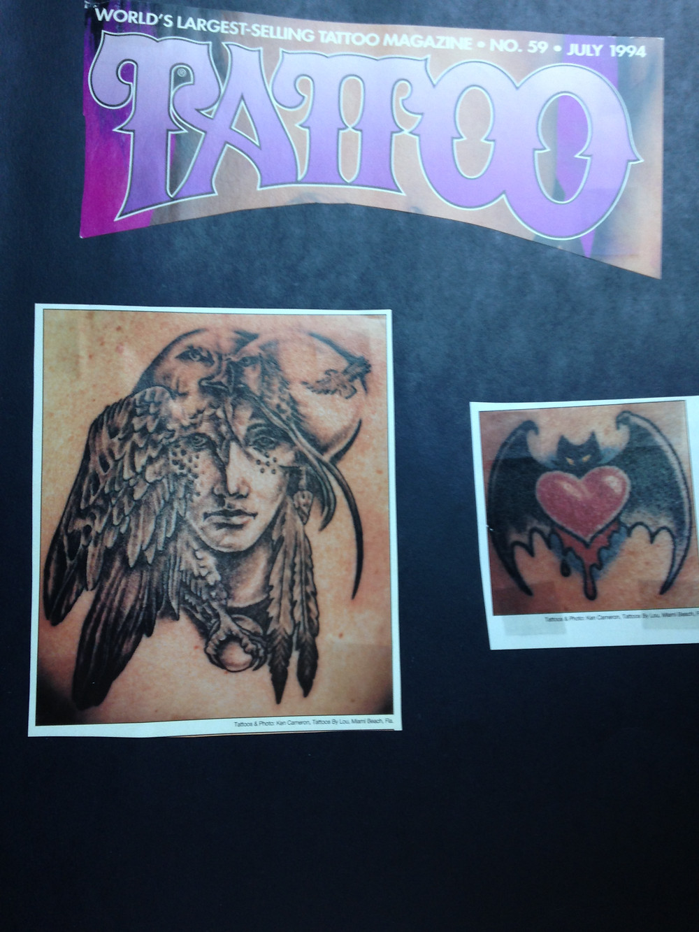 Tattoo Magazine July 1994