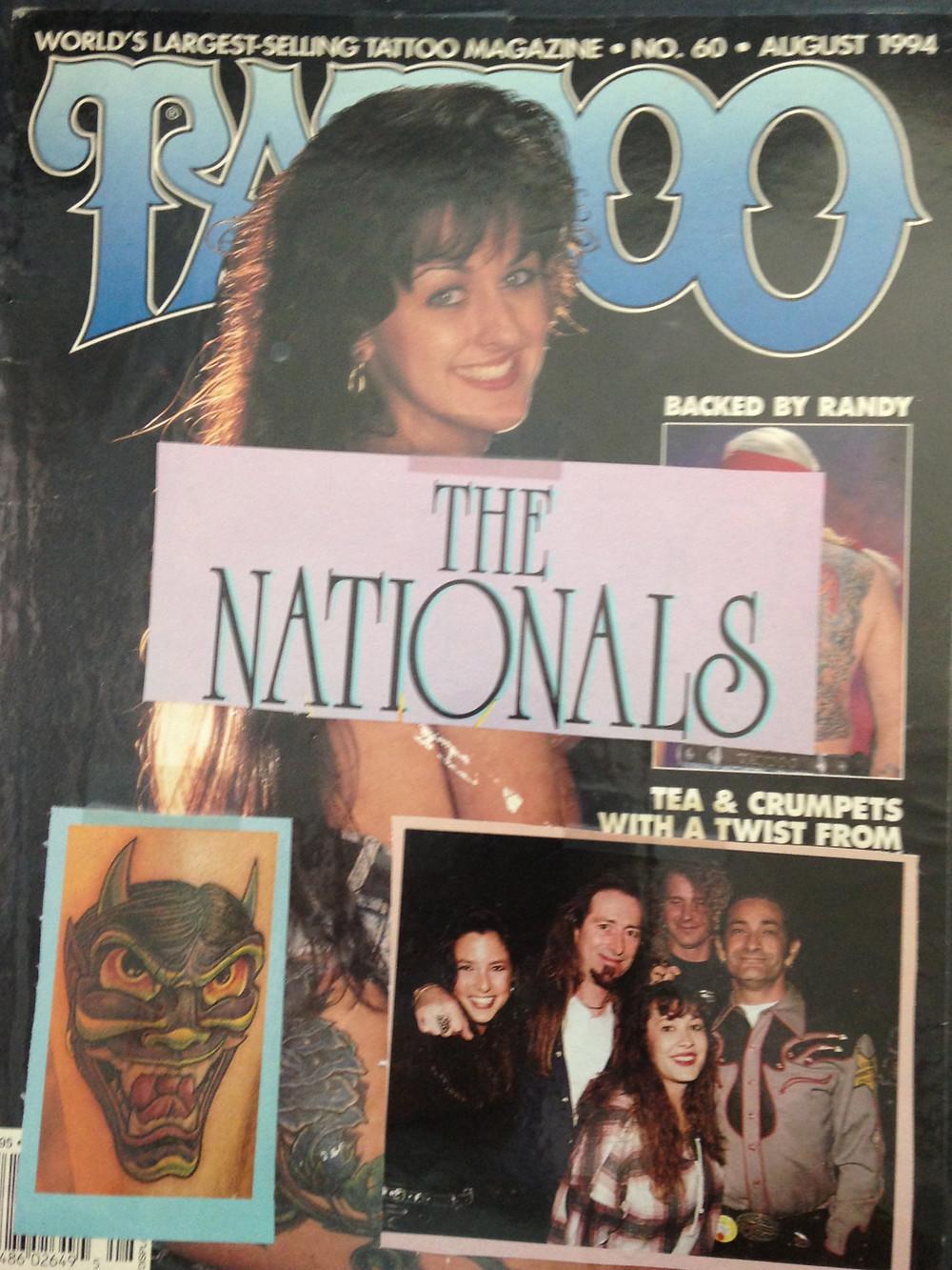 Tattoo Magazine August 1994