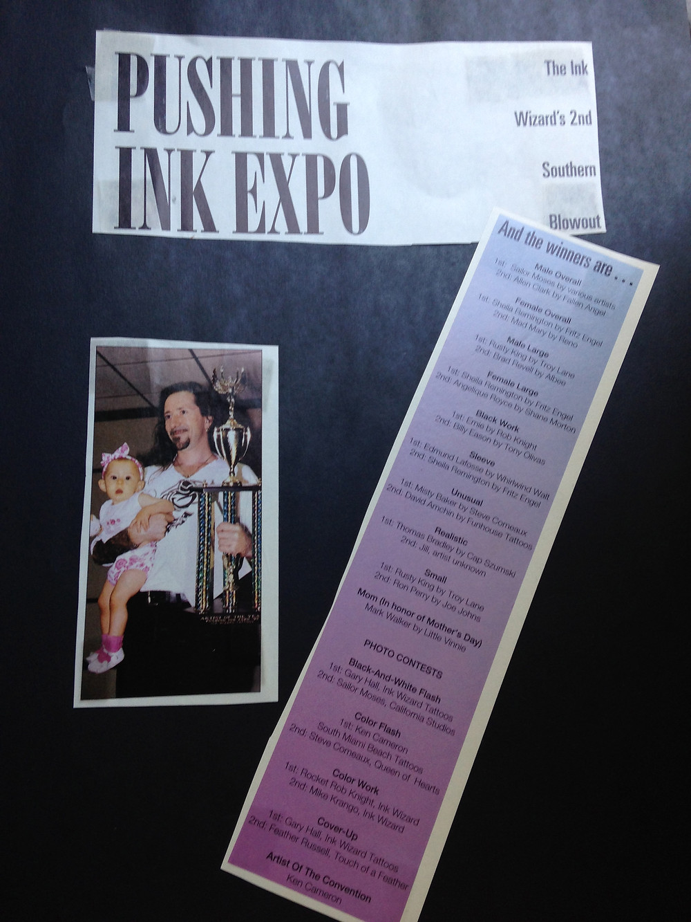 Pushing Ink Tattoo Expo
