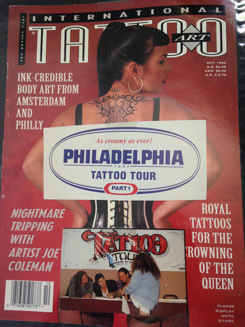 Flash from Tattoo Magazine April 1994