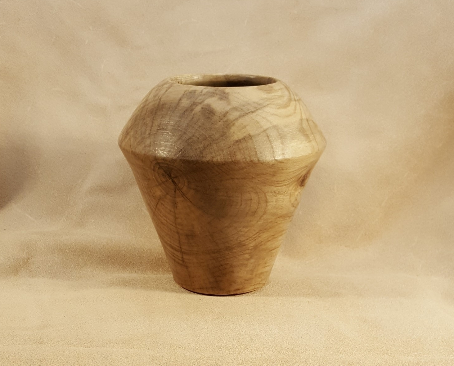 Spalted Hackberry Wood Vase