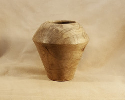 Spalted Hackberry Wood Vase