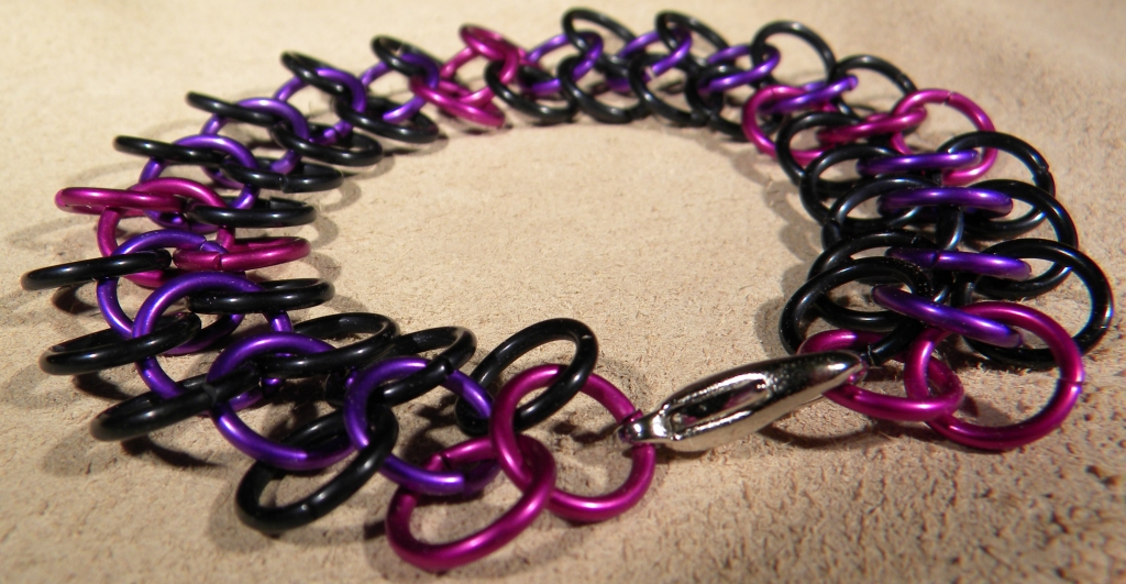 """Grapes of Wrap"" Chainmaile Bracelet"