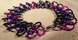 """""""Grapes of Wrap"""" Chainmaile Bracelet"""