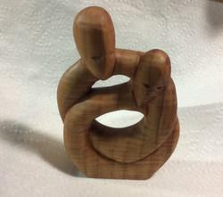 """Forever Linked"" Carved Maple"