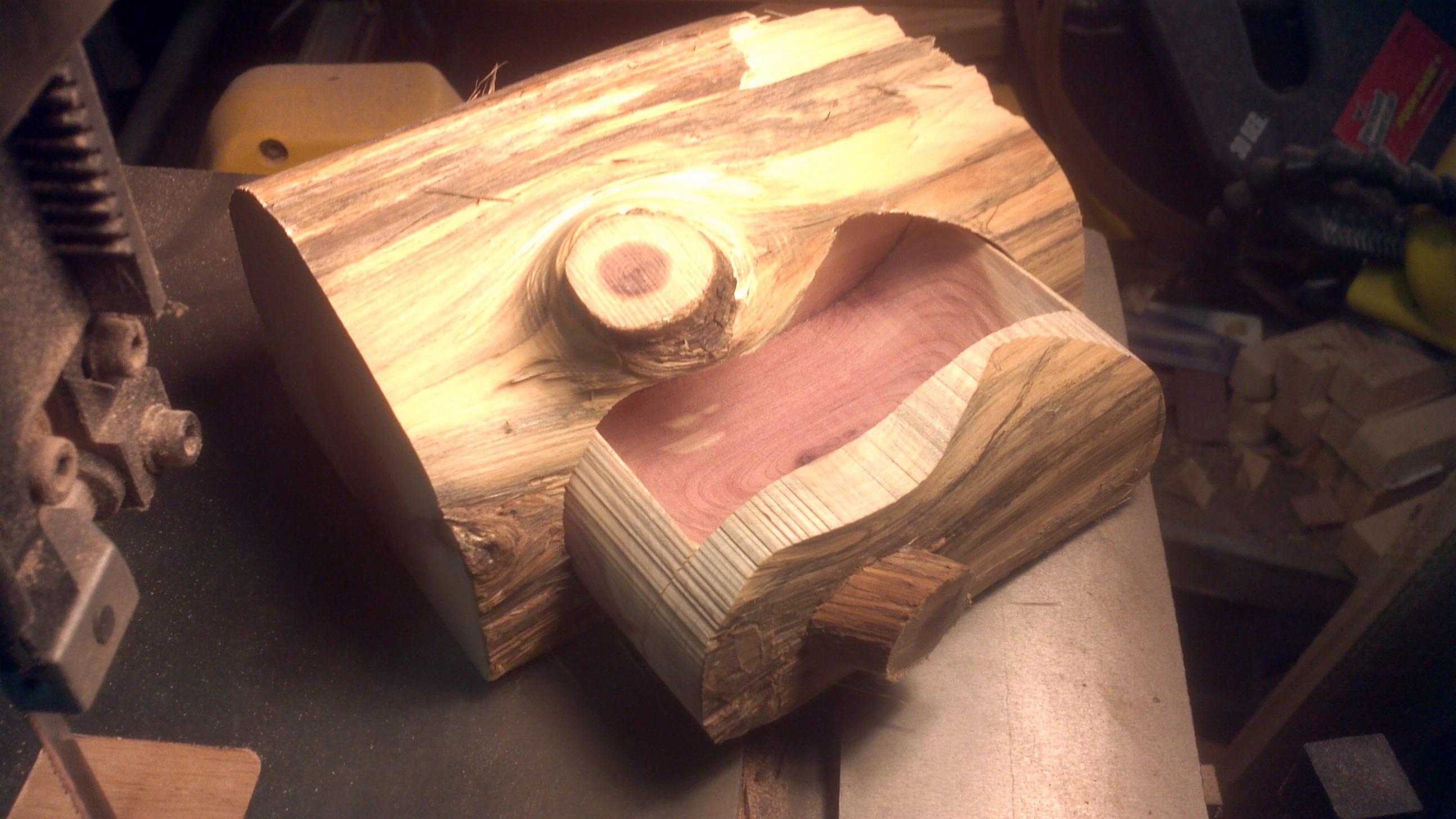 Red Cedar Bandsaw Box