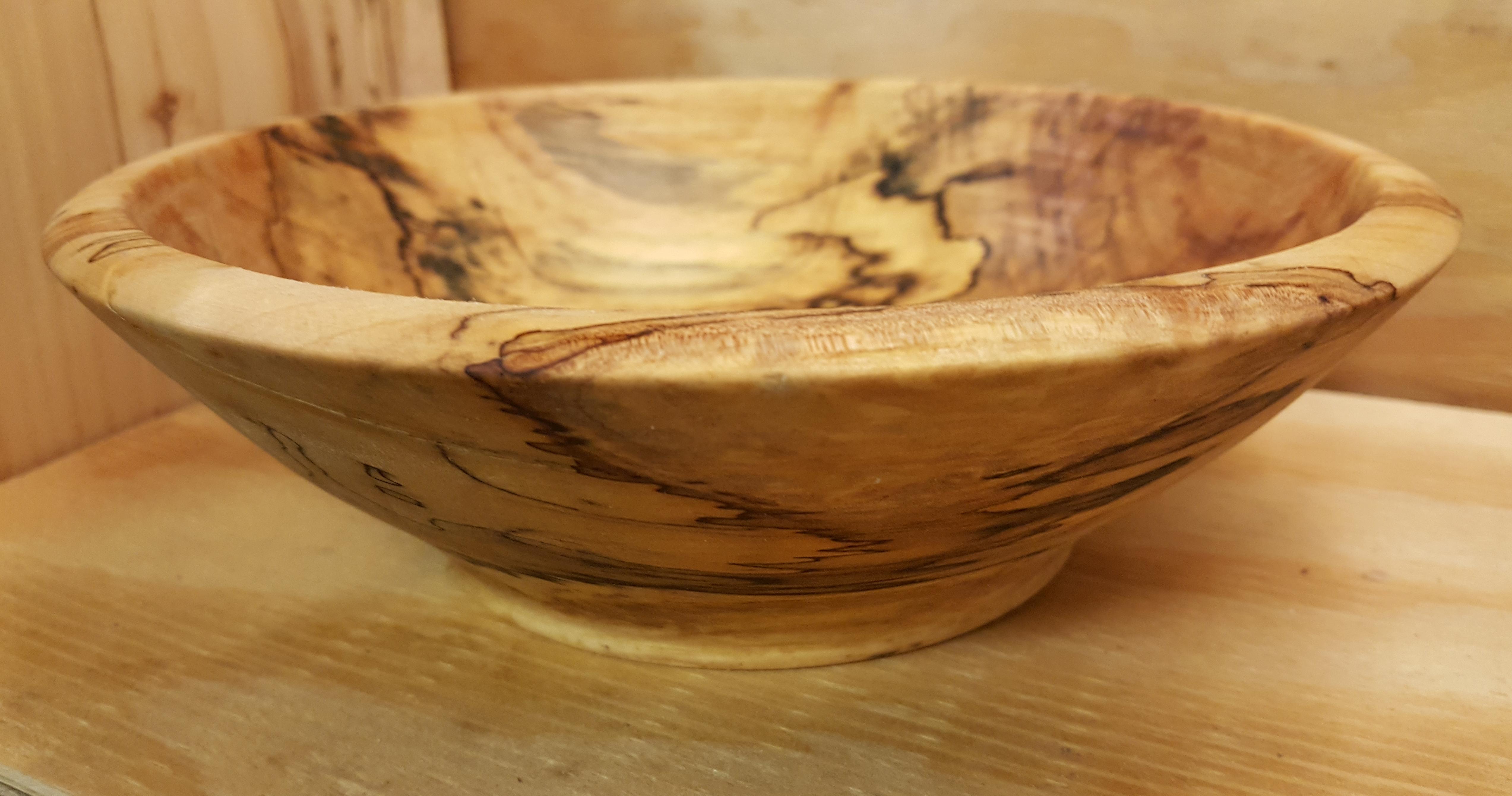 Spalted Oak Bowl