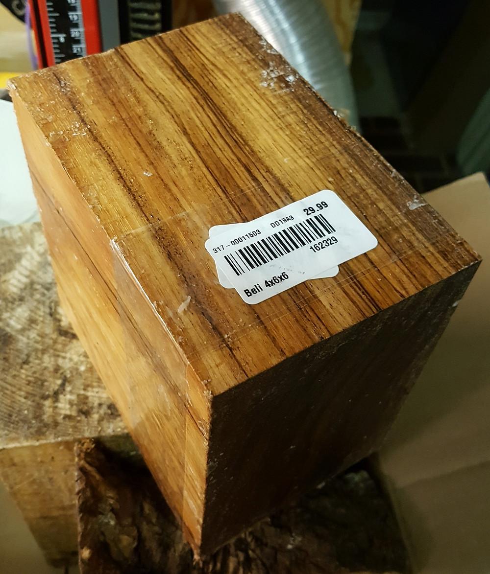 My Beli Wood Blank