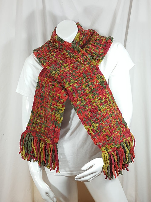 Bountiful Harvest Dapple - Woven Scarf