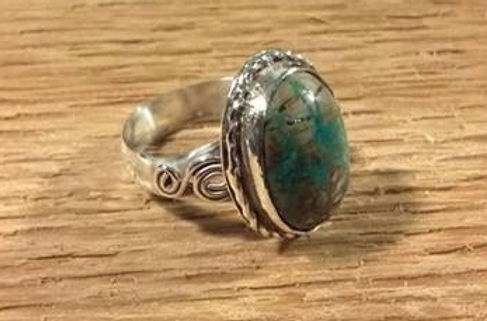 Handmade Sterling Silver Turquoise Ring