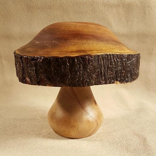 FOGwood Turned Mushroom #1