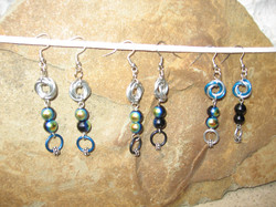 Braided Weave Chainmaille Earings