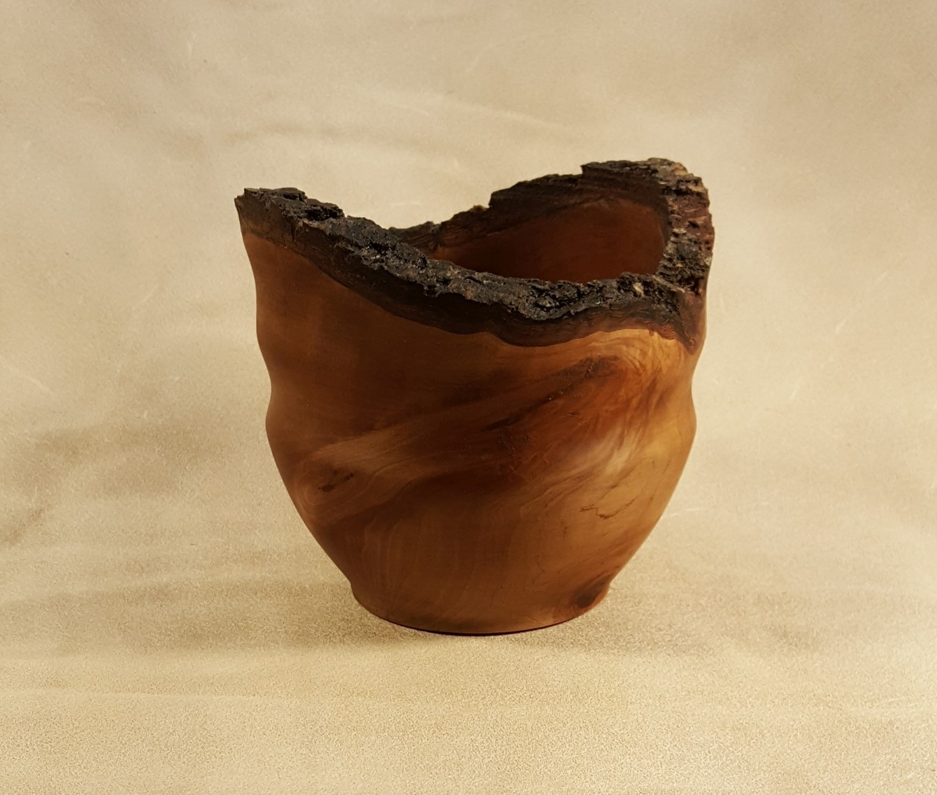Red Oak (Shudard) Natural Edge Bowl