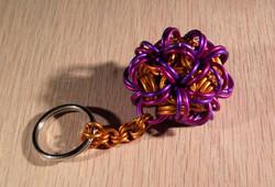 """Brain Chain"" Monkey Ball Keychain"