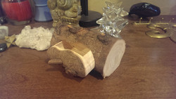 Italian Cypress Bandsaw Box