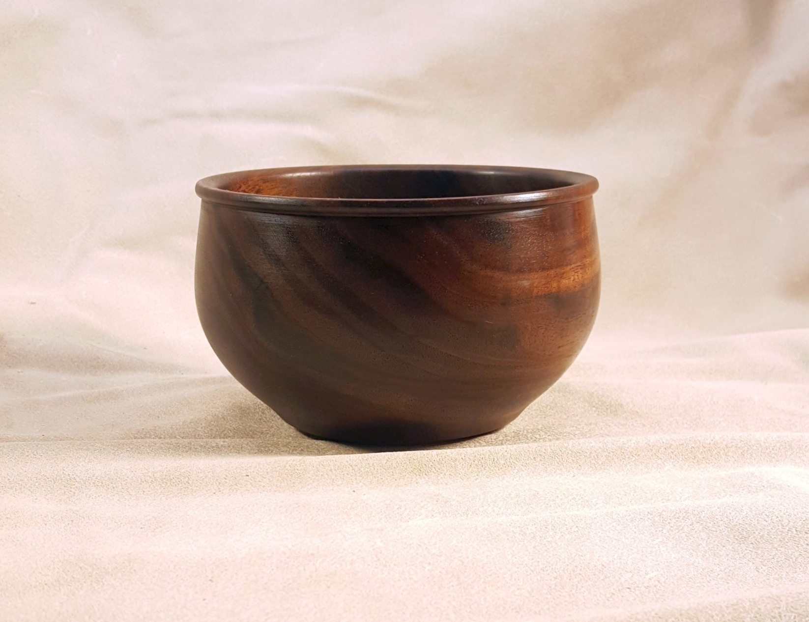 Dublin Viking Bowl in Black Walnut
