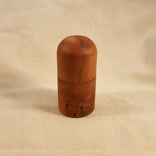 Red (Shumard) Oak Small Turned Wood Box