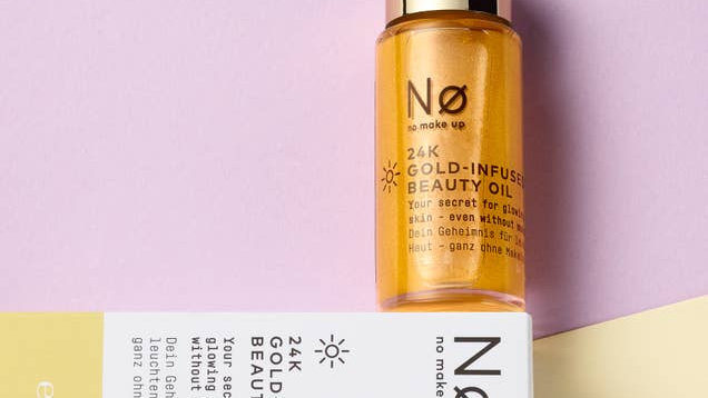 No COSMETICS 24K GOLD INFUSED BEAUTY OIL