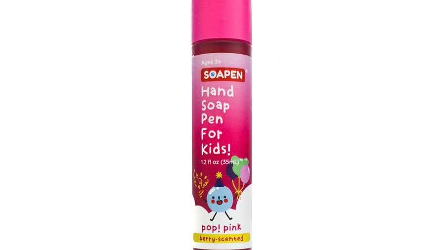 SOAP PEN PINK FOR KIDS