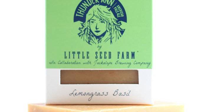 THUNDER ANN LEMONGRASS BASIL SOAP