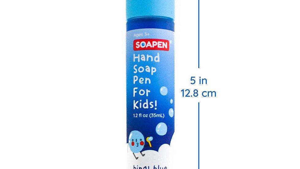 SOAP PEN BLUE FOR KIDS