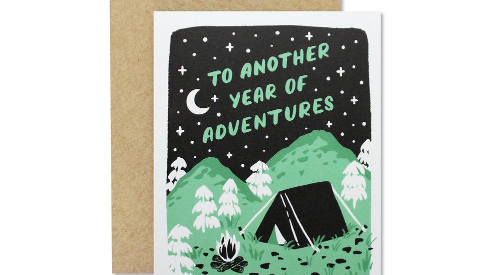 ADVENTURES CARD