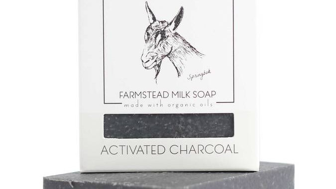ACTIVATED CHARCOAL FACIAL AND BODY SOAP