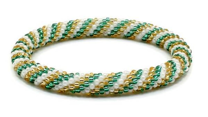 Twisted GreenBracelet