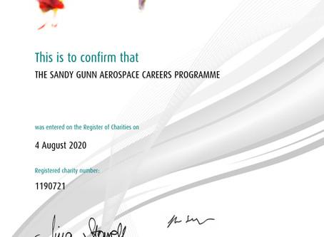 Announcing The Sandy Gunn Aerospace Careers Programme Charity