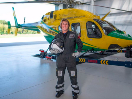 Handbags and Helicopters - Saving Lives for a Living
