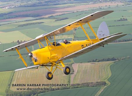 Tiger Moth flight prize draw winners announced