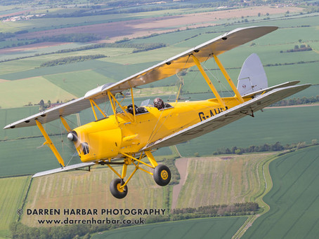 Tiger Moth flight prize draw winners announced