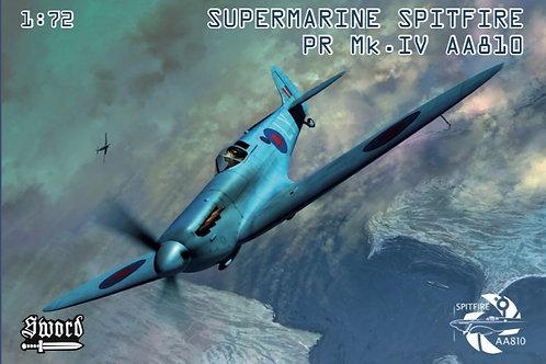 1:72 Scale Spitfire AA810 Model Kit