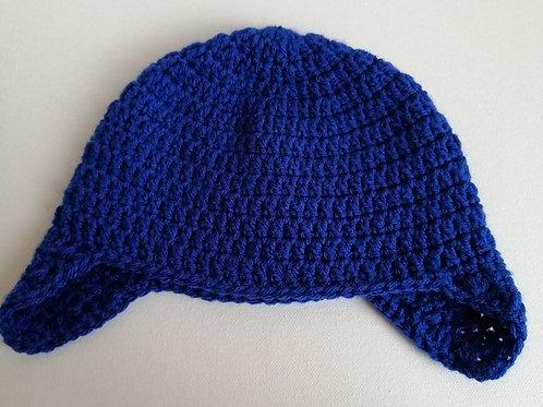 Child size earflap hat