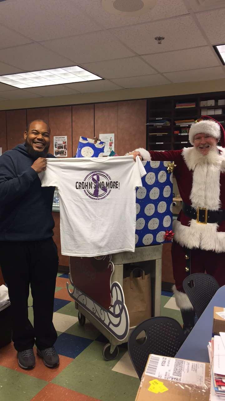 Santa had our help !