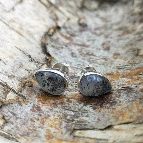 Merlinite Stud Earrings