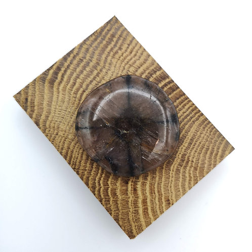 Chiastolite Palm Stone