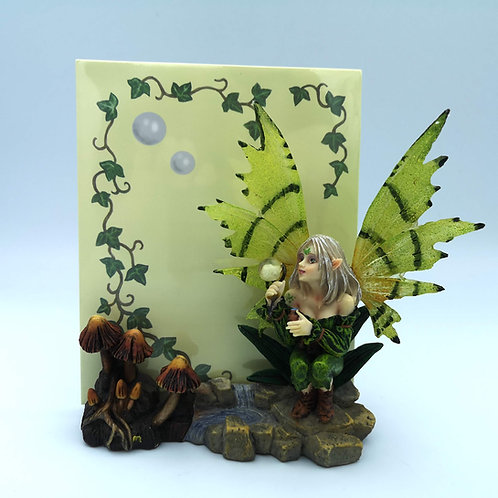 Blowing Bubbles Fairy Note Pad