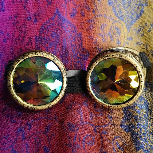 Gold Wacky Goggles