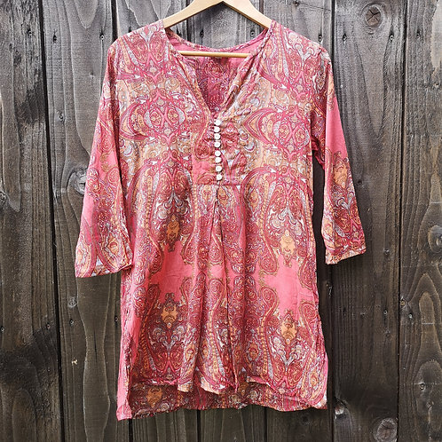 Cotton Paisley Top