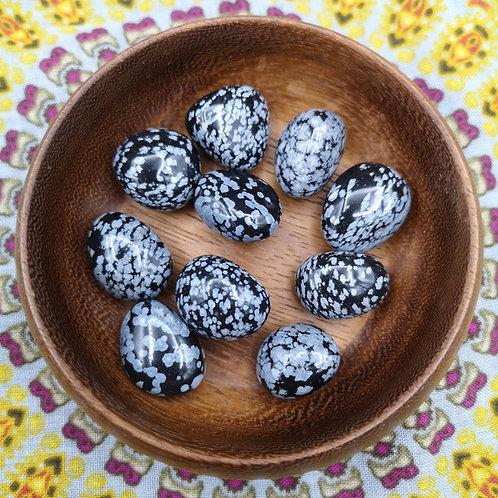 Snowflake Obsidian Tumble Stone